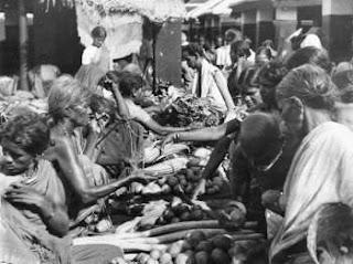 Rare Unseen image of Chennai Market ( Kothaval Chawadi)