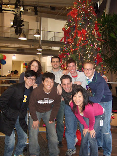 Webmaster Central holiday photo