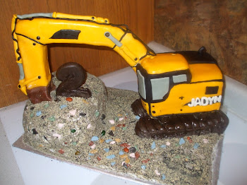 Mighty Machines Cake