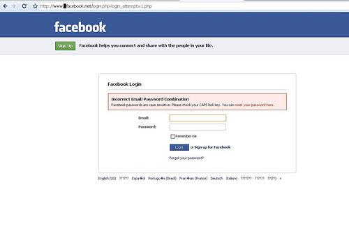Di facebook allerta online c è un clone del famoso social network