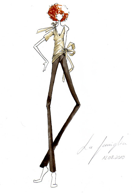 Modezeichnen: Figurien