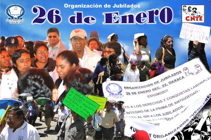 """ORGANIZACION DE JUBILADOS """"26 DE ENERO"""""""
