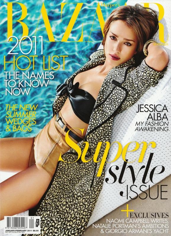 Model: Jessica Alba