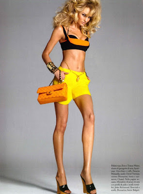 Candice Swanpoel Vogue pics