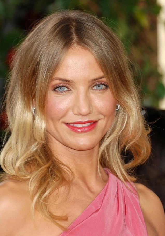 cameron diaz hair holiday. dresses Cameron Diaz: cameron