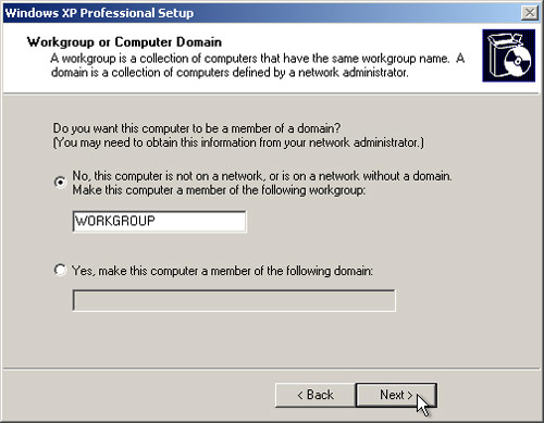 PC Support: Windows XP Installation