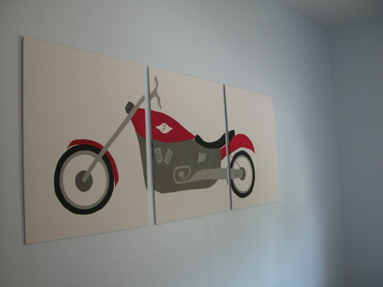 Boys Room Art, Posh Pieces