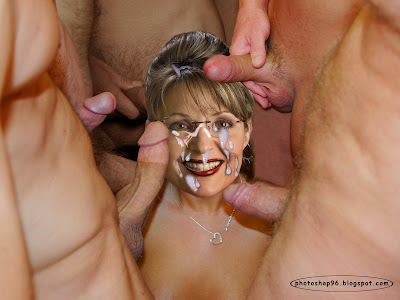 palin cover my face with cum photoshop