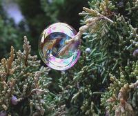 Viaggiare come una bolla di sapone tra le cose che amo.