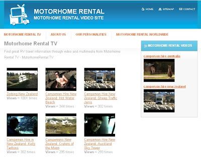 Motorhome Rental