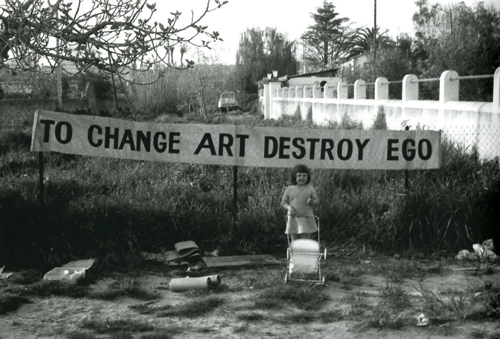 Tombolare ben vautier to change art destroy ego 1965 for Ben vautier