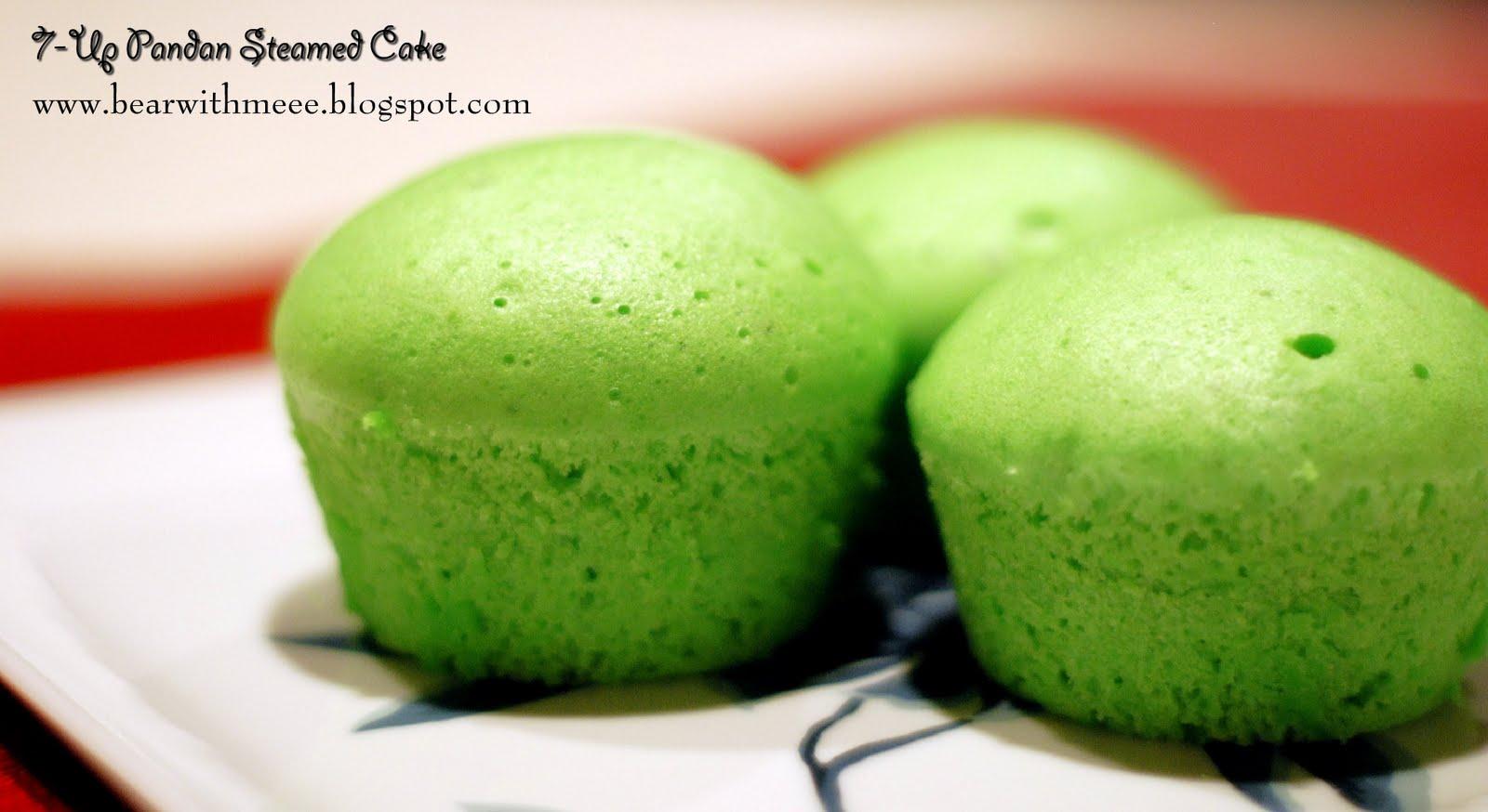 Steam pandan chiffon cake recipe