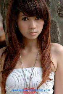 cewek rambut pirang Model Telanjang