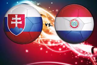 Resultado del partido Eslovaquia vs Paraguay