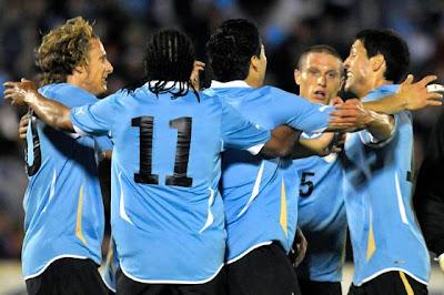 Goles Del Partido Uruguay vs Corea
