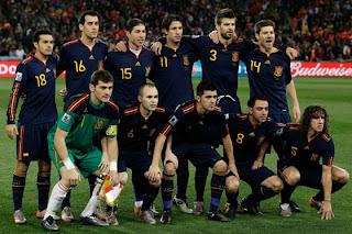 Los 23 Jugadores De España