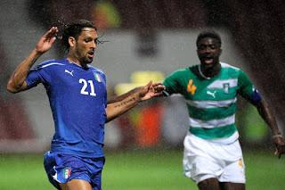 Resultado Del Partido Italia vs Costa De Marfil (0-1)
