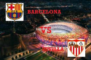 Sevilla vs Barcelona Partido De Ida Supercopa De España