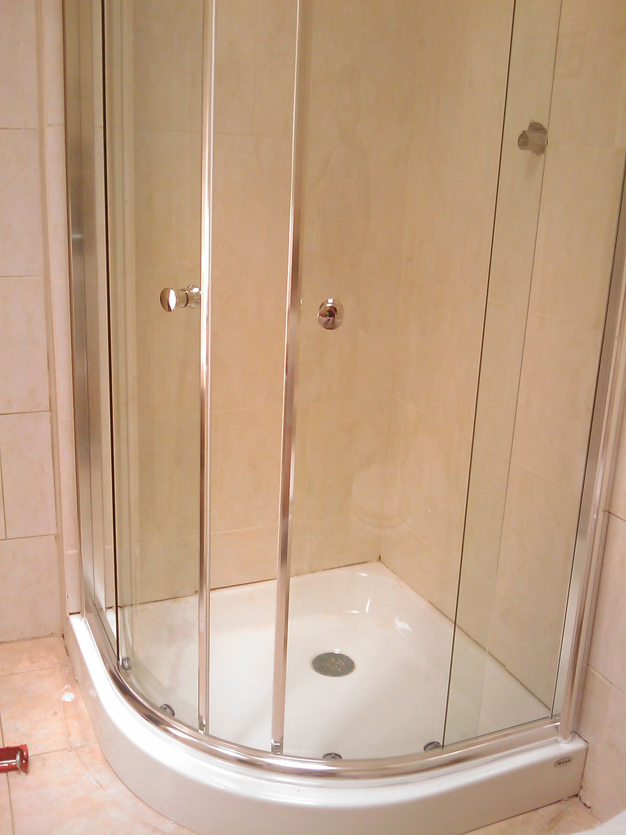 Maax Talen 36 Frameless Neo Round Shower Door Install