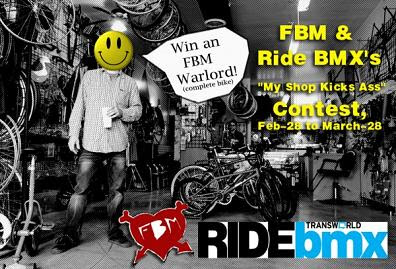fbm bmx my shop kicks ass contest
