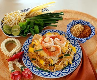 Pad Thai or Thai Stir-Fried Noodles