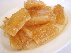 Kha Nom Montad Chuame (Candied Cassava)