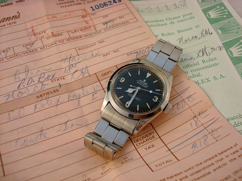 Navalwatch Rolex Explorer 1016 R Serial