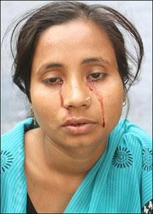air mata darah india