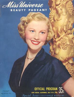 Beauty In Pageants: 1952 - 1963 Miss Universe Official Program