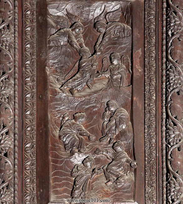 The Door Panels of Santa Sabina, 4th-5th century AD (?)