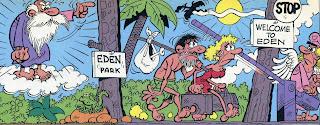 Corra jefe corra historias bblicas de ibez anteriormente ibez ya haba recurrido a este episodio bblico en la historieta larga de chicha tato y clodoveo viajar es un placer 1989 urtaz Gallery
