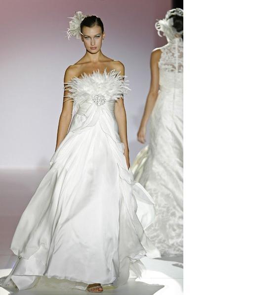 Casamentos a noiva e os vestidos