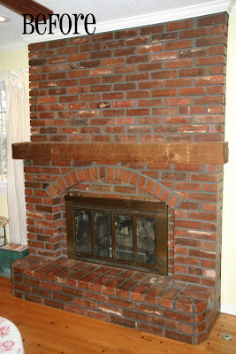 The Hunt for Vintage: Fireplace Remodel