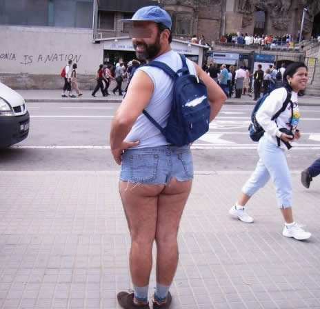 Girls in Short Shorts