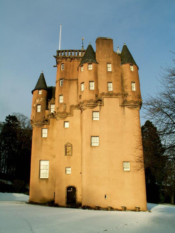 La favola della botte: Craigievar – Un castello da favola
