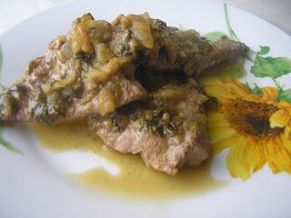 Articole culinare : Fegato alla veneziana