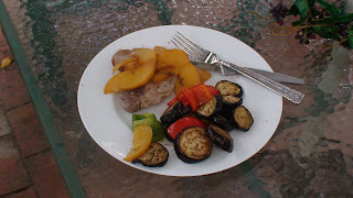 Pork with Peaches