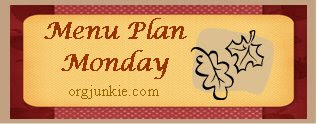 mpmfall Menu Plan Monday   October 6th