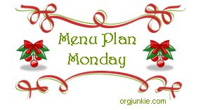 christmasmpm Menu Plan Monday   December 15