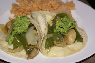  Veggie Tacos and Spanish Rice