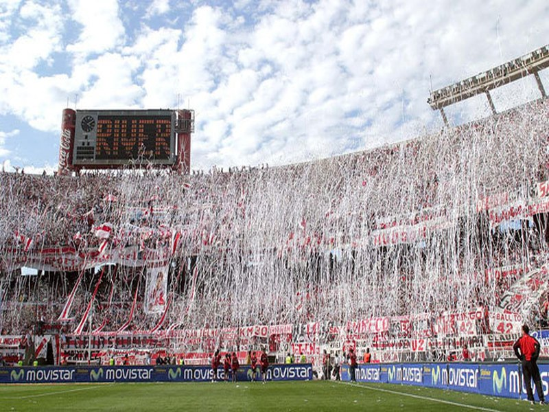 Imagenes del estadio Monumental de River Plate