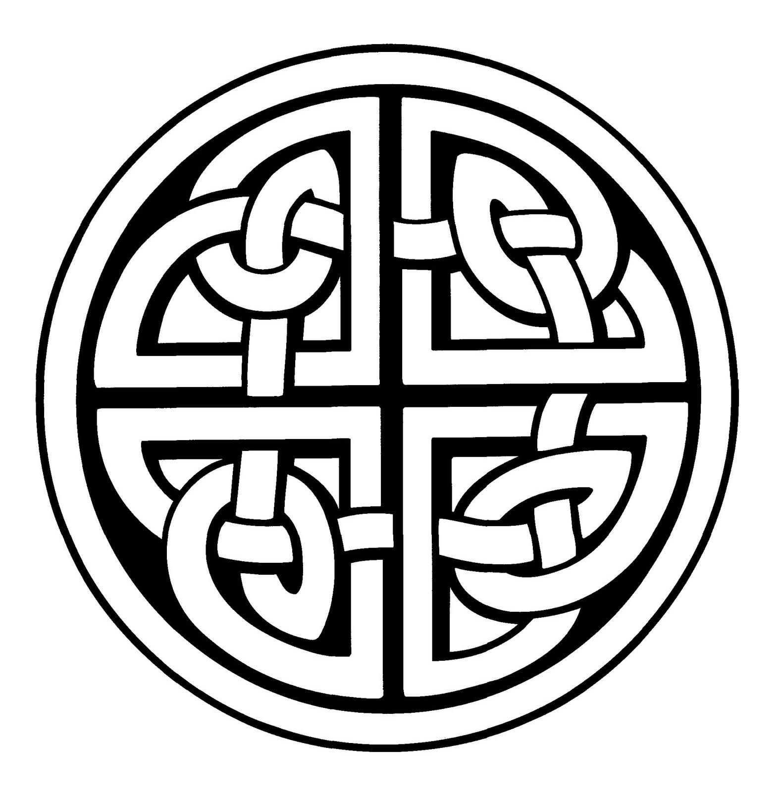 Magnífico Diseños Celtas Para Colorear Ornamento - Dibujos Para ...