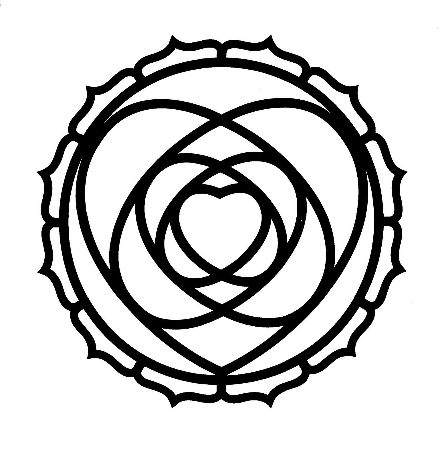 Mandalas Para Pintar: Mandala amoroso