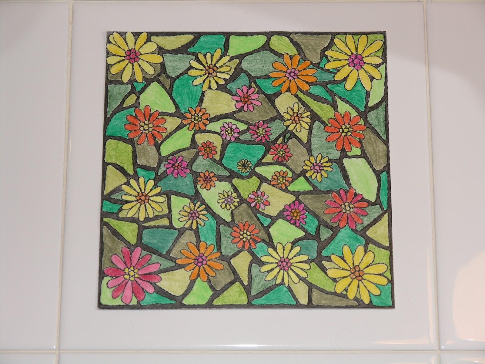 Mandalas para pintar mandala jard n for Jardin mandala