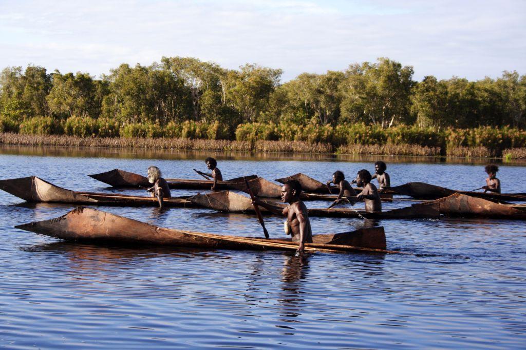 Indigenous Boats Ten Canoes