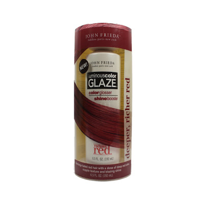 John Frieda Fails Redheads: Luminous Color Glaze in Radiant Red Discontinued