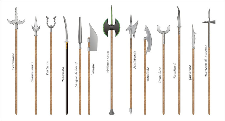 This is a blog dedicated to the monument of my geekery Glaive Guisarme