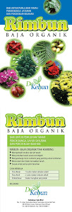 NEW PACK!!! HIGH QUALITY!!! RIMBUN..ORGANIC FERTILIZER.