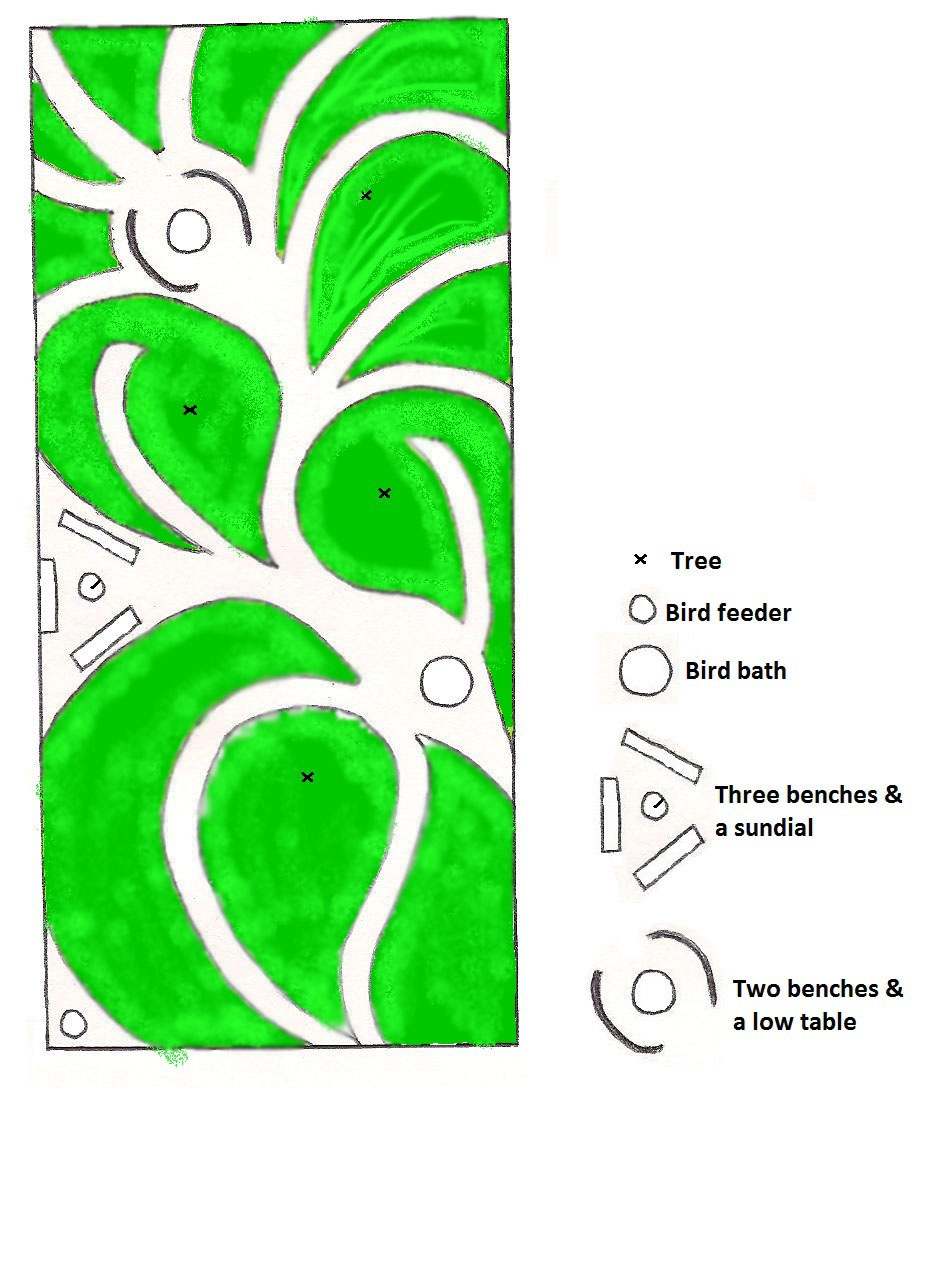 ... run Ecological Gardens: Meditation/Medicinal Herbs/Permaculture Garden