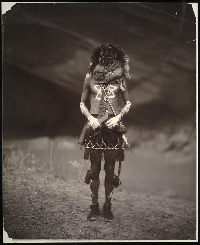 edward S. curtis (1868-1952) Tobadzishini-Navaho [sic.] Gelatin silver print, 1904